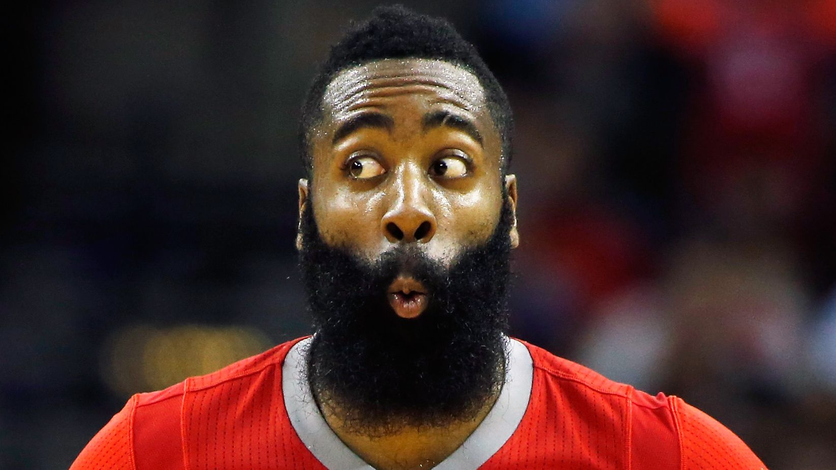 James Harden of the Houston Rockets.