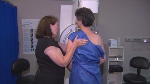 Studi skrining kanker payudara Universitas Melbourne