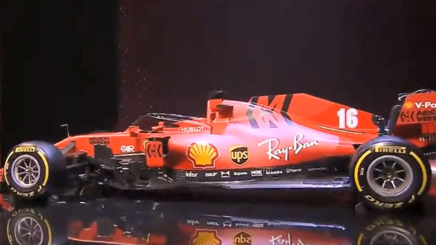 Ferrari unveil new car