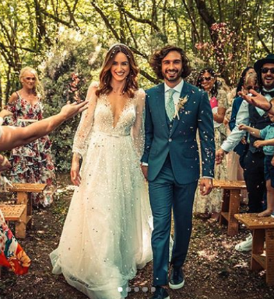 Joe Wicks wedding day