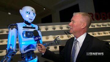 VIDEO: New London exhibit celebrates the world of robots
