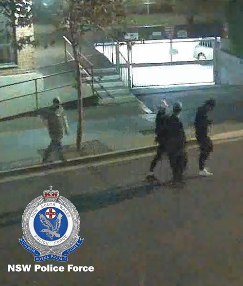 The boys were walking along Little and Charles streets at 2am on May 19. Picture: NSW Police