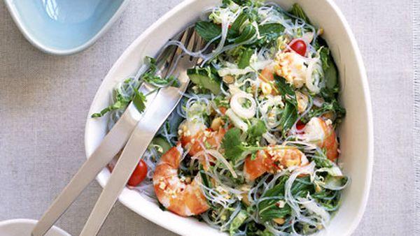 Little Thai prawn and glass noodle salad