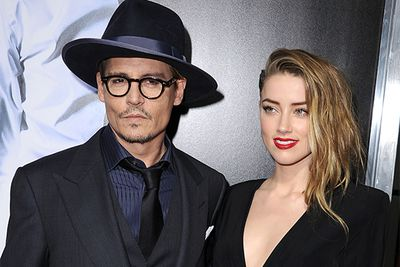 "<b>June 2012:</b> Depp splits from long-time partner Vanessa Paradis after speculation of an affair with Heard.<br/><br/><b>April 2013:</b> The pair finally make their relationship public after being spotted at a Rolling Stones concert hand in hand. <br/><br/><b>January 2014:</b> Heard is spotted wearing a sparkler on her ring finger, with Depp finally confirming the engagement in March: ""The fact that I'm wearing a chick's ring on my finger is probably a dead giveaway."" <br/>"