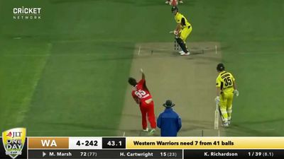 Cricket: Western Australia beat South Australia to one-day cup final win