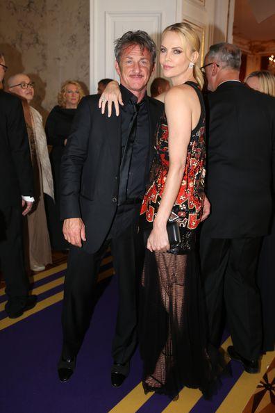 Charlize Theron, Sean Penn, AIDS Solidarity Gala, Vienna, 2015