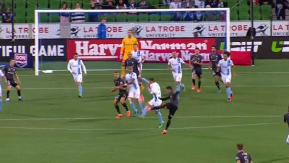 Roar striker scores 'one of the goals of the season'