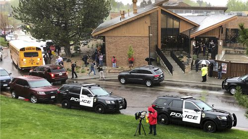 190508 Denver school shooting eight students injured Colorado World News USA