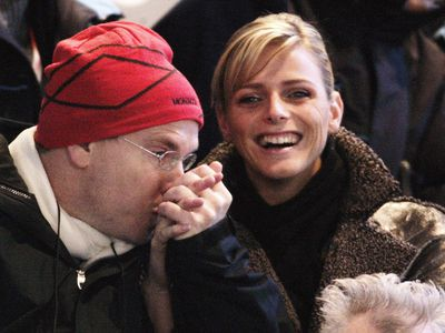 Prince Monaco and Princess Charlene make their debut