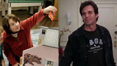 Sean Marquette and Mark Ruffalo as Matt Flamhaff in 13 Going on 30