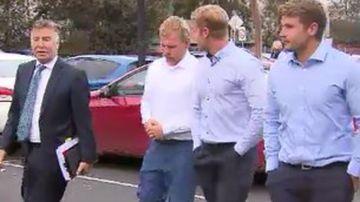 Bricklayers guilty of violent pub brawl walk free