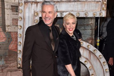 We can always count on good ol' Baz and wife Catherine Martin to cheer up the red carpet.