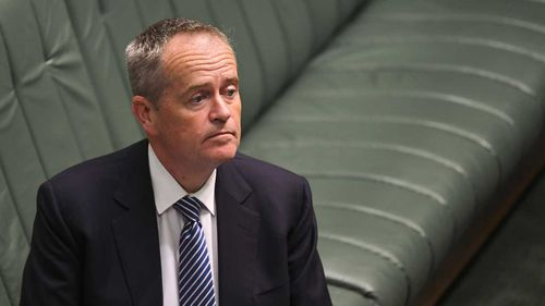 Bill Shorten has conceded Labor's franking credits policy was a mistake.