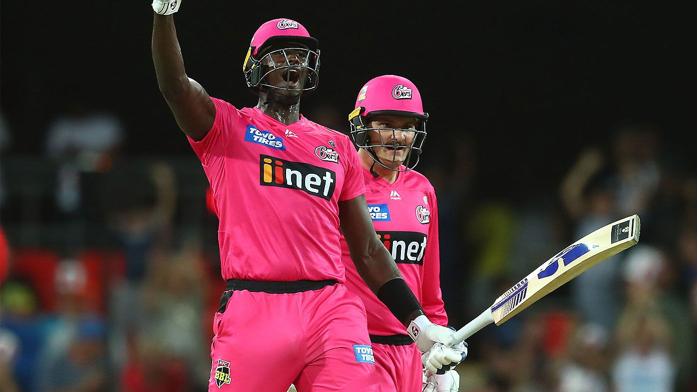 Jason Holder signs off from BBL with brutal final over blitz against Melbourne Renegades