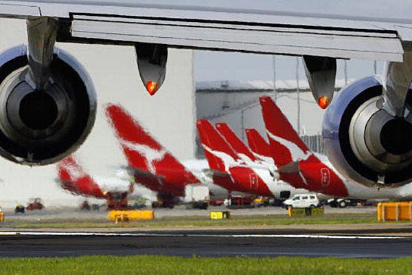 Qantas.