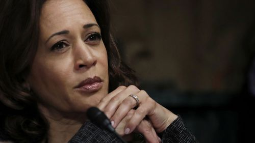Kamala Harris become a feminist heroine for her incisive questioning of Supreme Court justice Brett Kavanaugh.