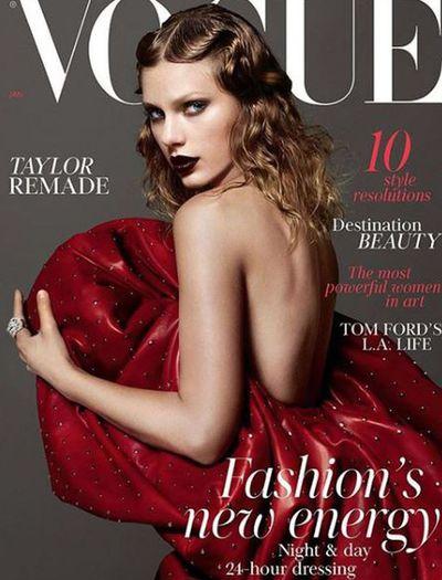 Taylor Swift in Saint Laurent for <em>British Vogue</em> December 2017