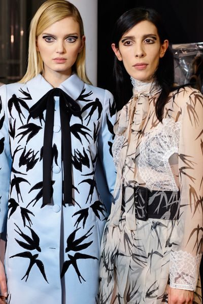 The prints from Rochas' Fall 2015 collection, in full flight.