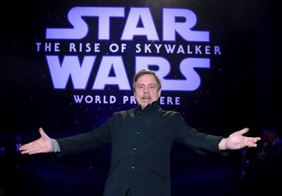 Mark Hamill, Star Wars: The Rise Of Skywalker, world premiere, red carpet