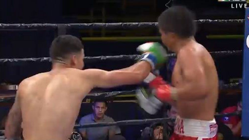 The best KO in a boxing ring this year
