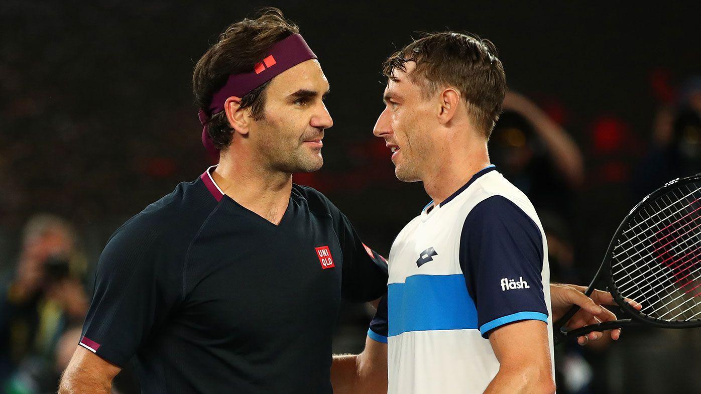 Roger Federer, John Millman