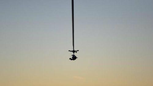 Google executive's record 41km skydive