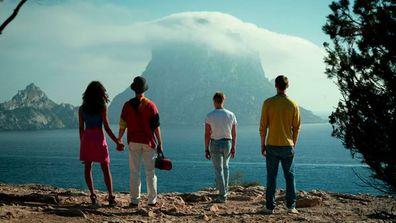Cast of Netflix's White Lines.