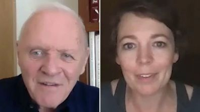 Anthony Hopkins and Oliva Coleman on Today