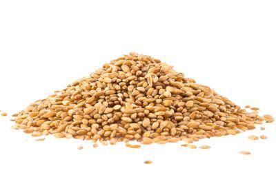 Barley: 1/2 cup has 22g carbs, 3g fibre, 97 calories