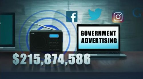 Government TV advertising