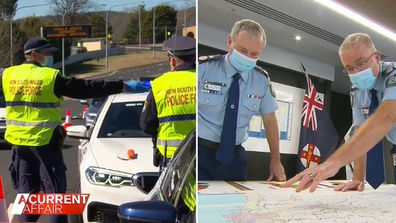 Police ramp up attack on COVID-19 war.