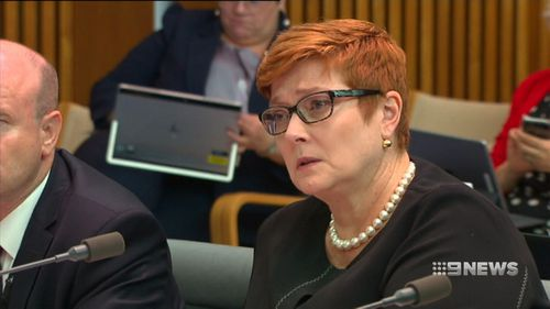 Foreign Affairs Minister Marise Payne did not rule out ending defence sales to Saudi Arabia.