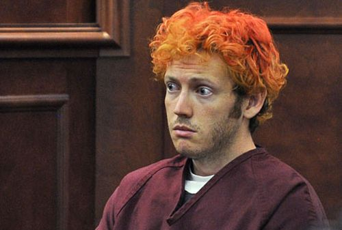 James Holmes in court. (AAP)