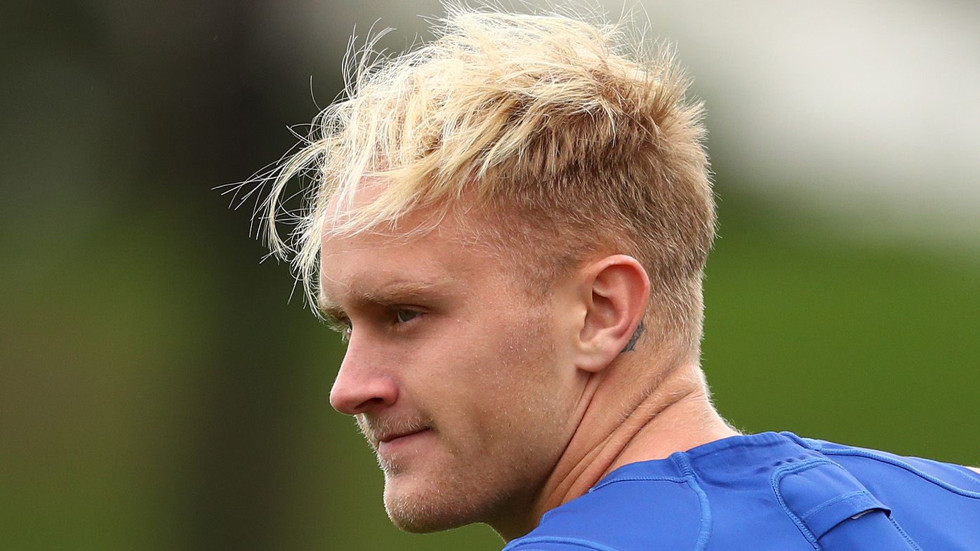 North Melbourne star Jaidyn Stephenson hospitalised after boozy mountain bike trick in backyard goes wrong