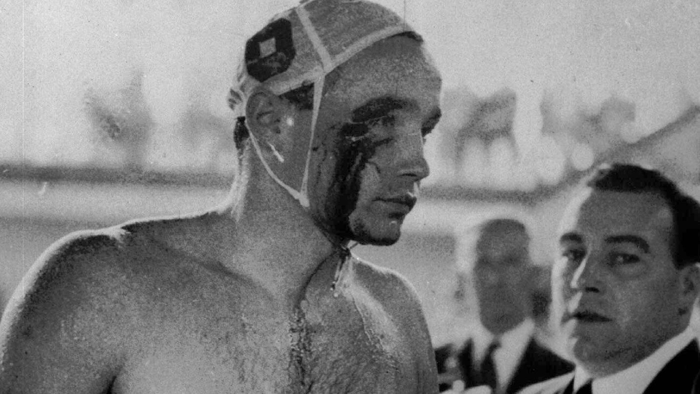 'Blood in the Water': The Melbourne Olympics water polo stoush that wowed Tarantino