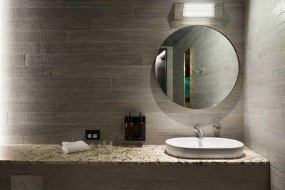 Creative Sun Room Bathroom