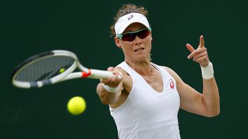 Samantha Stosur exits from Wimbledon 2016 after being defeated in the second round by Germany's Sabine Lisicki.