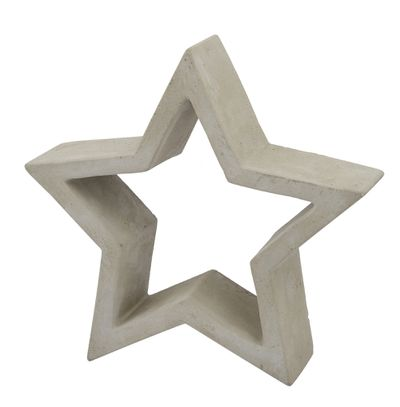 """<a href=""""https://www.templeandwebster.com.au/Grey-Amity-Decorative-Cement-Star-45.1040.15-RGUE1532.html"""" target=""""_blank"""">Grey Amity Decorative Cement Star, $54.96 (set of four).</a>"""