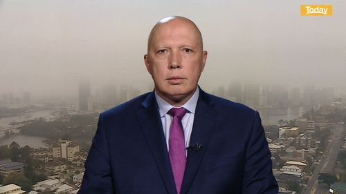 Peter Dutton August 14, 2020 - Today