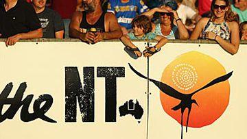 Darwin football fans (Getty)