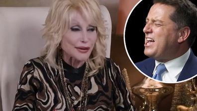 Karl Stefanovic and Dolly Parton reunite for duet