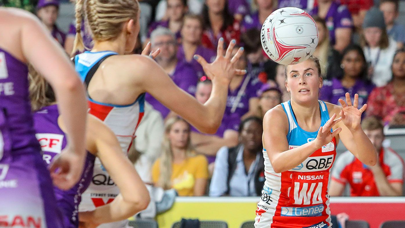 Dominant Swifts win over Firebirds marred by injury to captain Maddy Proud