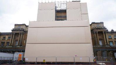 Buckingham Palace's massive refurbishment is ahead of schedule.