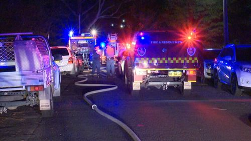A number of residents were evacuated as a precaution. (9NEWS)