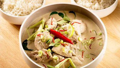 "Recipe: <a href=""http://kitchen.nine.com.au/2017/03/09/13/17/javanese-chicken-curry"" target=""_top"">Javanese chicken curry</a>"