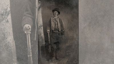 'Billy the Kid' (1879-80) by an unknown photographer sold in June 2011 for US$2,300,000 at an auction at Brian Lebel's Old West Show & Auction, making it the ninth most expensive photograph ever. (Supplied)