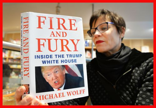 In Wolff's international best seller 'Fire and Fury', former Whitehouse adviser Steve Bannon brutally attacks Trump and his entourage. (AAP)
