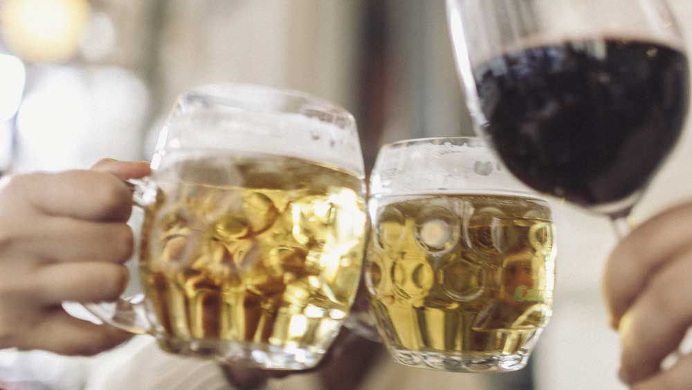 Scientist invents hangover-free alcohol. Image: iStock