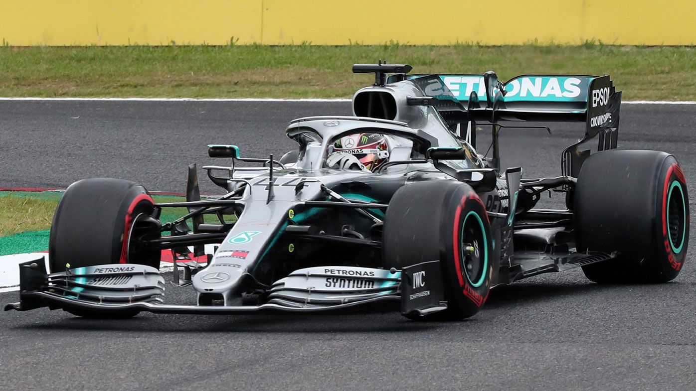 Hamilton's R-rated blow up sours Mercedes victory at Japanese Grand Prix