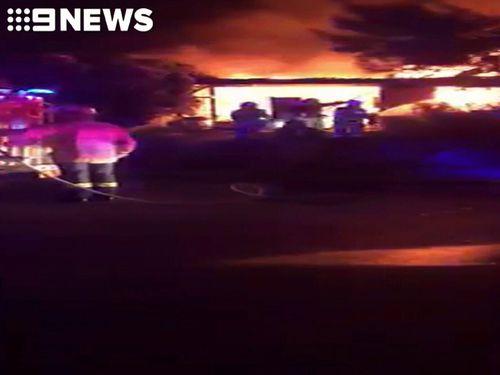 Men escape 'suspicious' fire at Adelaide home